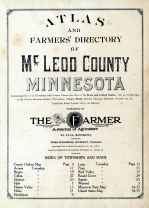 Title Page and Index Map, McLeod County 1914