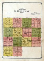 Topographical Map, McLeod County 1914