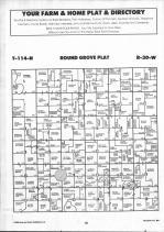 Map Image 006, McLeod County 1992 Published by Farm and Home Publishers, LTD