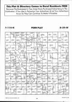 Map Image 010, McLeod County 1992 Published by Farm and Home Publishers, LTD