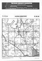 Map Image 015, McLeod County 1992 Published by Farm and Home Publishers, LTD