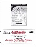 Anderson's Decorating Center, John Schutt, McLeod County 2003