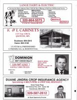 Lange Dairy and Electric, K and L Cabinets, Dominion Realty, Jindra Crop Insurance, McLeod County 2003