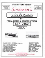 Sorensen's Sales and Rentals, McLeod County 2003