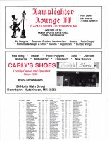 Acoma Township Owners Directory, Ad - Lanplighter Lounge II, Carly's Shoes, McLeod County 2003