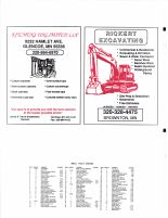 Collins Township Owners Directory, Ad - Kitchens Unlimited LLP., Rickert Excavating, McLeod County 2003