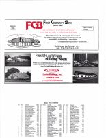 Hale Township Owners Directory, Ad - First Community Bank, Lester Buildings, Inc., McLeod County 2003