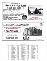 Hassan Valley Owners Directory, Ad - Victorian Inn, Compton-Anderson, McLeod County 2003