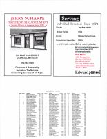Helen Township Owners Directory, Ad - Jerry Scharpe, Kirk Miller Investor for Edward Jones, McLeod County 2003