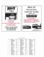 Rich Valley Township Owners Directory, Ad - Art Mallak Realtor, Biscay Municipal Liquor Store, McLeod County 2003