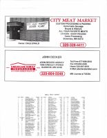 Sumter Township Owners Directory, Ad - City Meat Market, John Decker Agency, McLeod County 2003