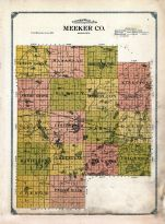 County Map, Meeker County 1913