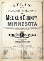 Title Page and Index, Meeker County 1913
