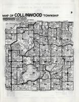 Collinwood Township, Meeker County 1952c Original