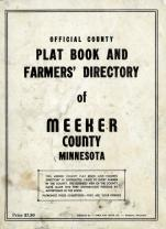 Title Page, Meeker County 1952c Original