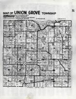 Union Grove Township, Meeker County 1952c Original