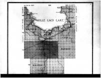 Mille Lacs County Outline Map - Above, Mille Lacs County 1914 Microfilm