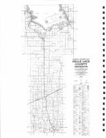 County Map, Mille Lacs County 1975