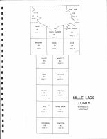 Index Map, Mille Lacs County 1975