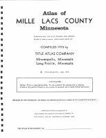 Title Page, Mille Lacs County 1975