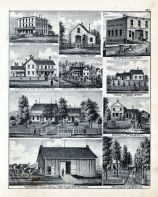 O. R. Kidders Farm, Joshua Francis Residence, S.S. Beckwith Residence, Cook Brothers Livery
