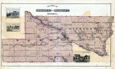 Brown and Nicollet Counties, Minnesota State Atlas 1874
