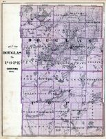 Douglas and Pope Counties, Minnesota State Atlas 1874