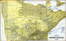 Northern Minnesota, Minnesota State Atlas 1874