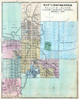 Olmsted County - Rochester, Minnesota State Atlas 1874