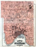 Ramsey County, Minnesota State Atlas 1874