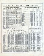 Statistical United States Census, 1870 001, Minnesota State Atlas 1874