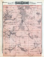Steele County, Minnesota State Atlas 1874