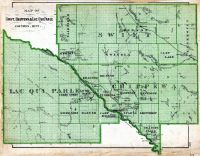 Swift, Chippewa and Lac Qui Parle Counties, Minnesota State Atlas 1874