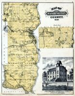 Washington County, Saint Croix Valley Academy, Minnesota State Atlas 1874