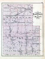 Watonwan and Martin Counties, Minnesota State Atlas 1874