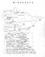 Minnesota State Map, Morrison County 1958