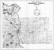 Morrison County Map, Morrison County 1958