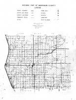 Morrison County Map - Legend, Right, Morrison County 1958