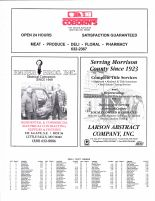 Pine Creek Township, Ad - Coborn's, Hauer Bros. Inc., Larson Abstract Co., Inc., Morrison County 1996