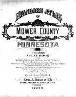 Title Page, Mower County 1896
