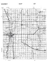 County Map 1, Mower County 1956