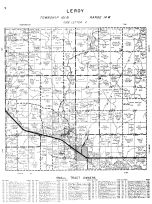 Leroy Township, Mower County 1956