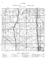 Lyle Township, Mower County 1956
