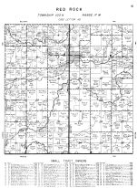 Red Rock Township, Mower County 1956