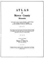 Title Page, Mower County 1956