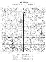 Waltham Township, Mower County 1956