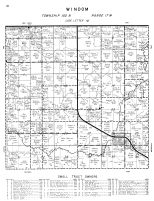 Windom Township, Mower County 1956