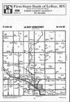 Map Image 038, Mower County 1993 Published by Farm and Home Publishers, LTD