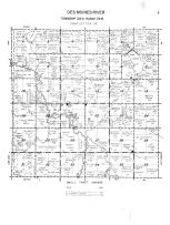 Des Moines River Township, Lime Creek, Lake Louisa, Murray County 1961