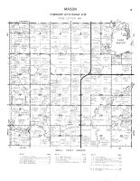 Mason Township, Lake Shetek, Beaver Creek, Murray County 1961